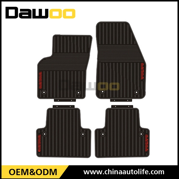 used for VOLVO S40 customized waterproof rubber car floor mat