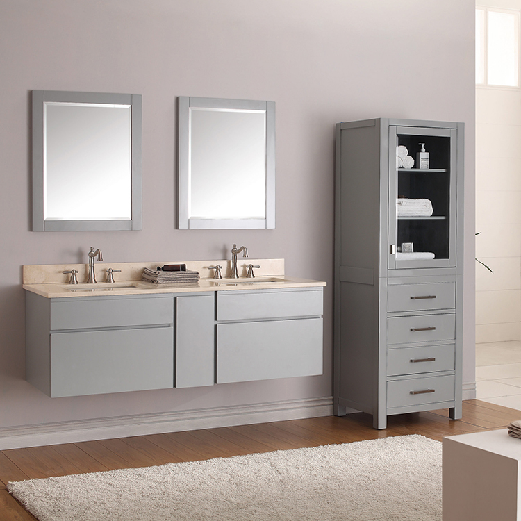 Double Sink Bathroom Vanity Combo
