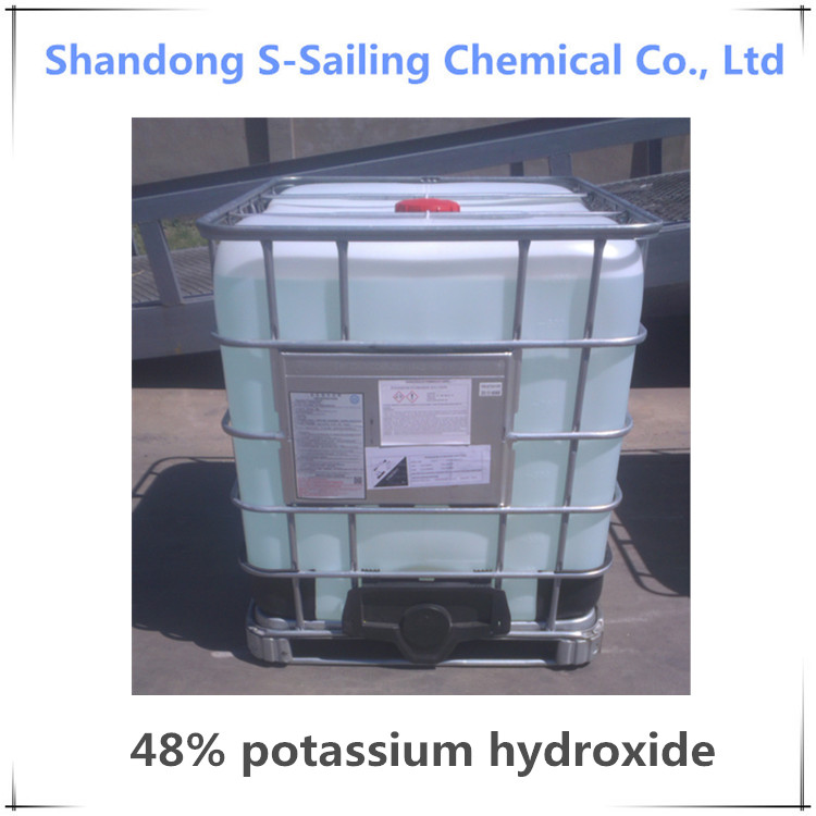 48% potassium hydroxide / 48% KOH solution with best price