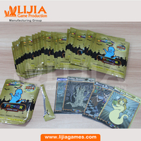 Custom trading cards booster pack cards