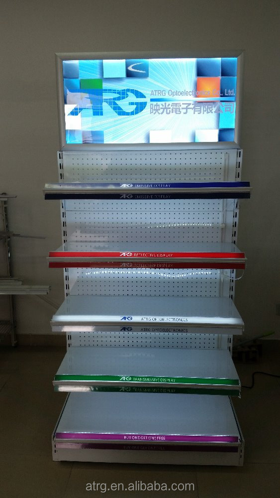 Economical12v Dc Led Light Box Use In Retail Display Rack
