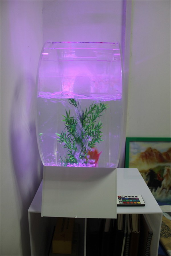Wholesale Acrylic Fish Bowl Mini Fish Tank Transparent Acrylic Fish Tank Acrylic Aquarium Fish Tank