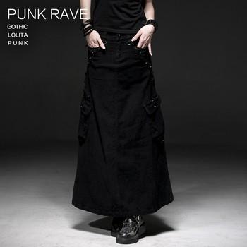 hot sales bbd4c 75cf3 Q-224 Punk Rock Di Lino Sciolto Punk Rave Vestiti Di Marca Fornitori Gonne  Lunghe - Buy Punk Rock Gonne Lunghe,Punk Rave Vestiti Di Marca Gonne,Punk  ...