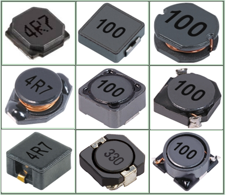 Chipsen SMD CD43  inductors bobbin/High quality choke coil filter inductor the circular/Square inductors customized size accept