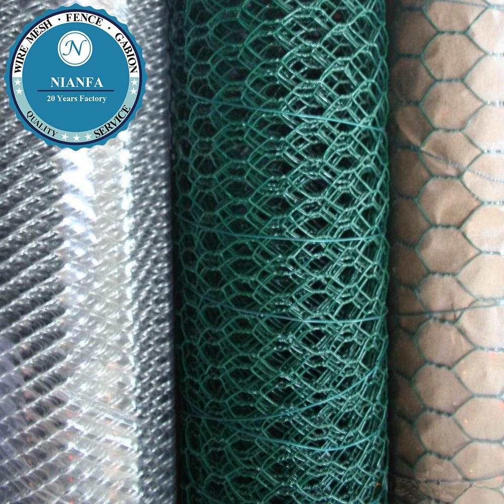 1/2 Inch Small Bird Cage Wire Mesh/pvc Coated Hexagonal Chicken Wire ...