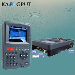 Fast tracking satellite signal finder strength satellite finder meter