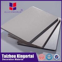 Alucoworld Europe modern kitchen design acm high quality aluminium composite panel