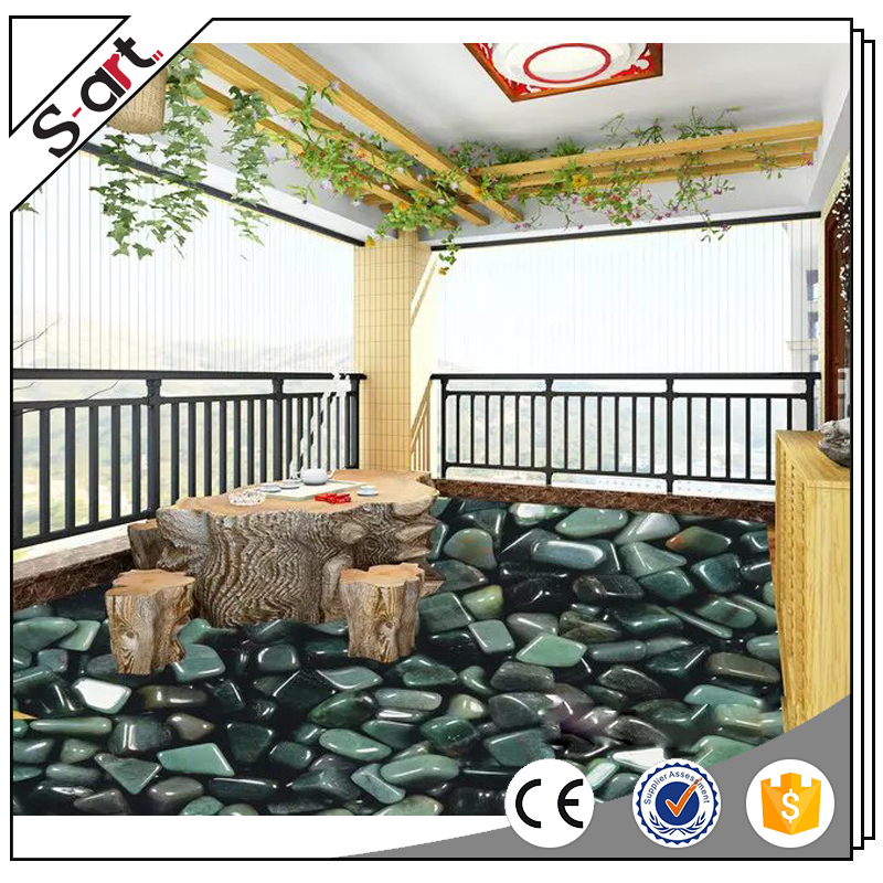 Premium quality new arrival full catalog pvc 3d flooring murals