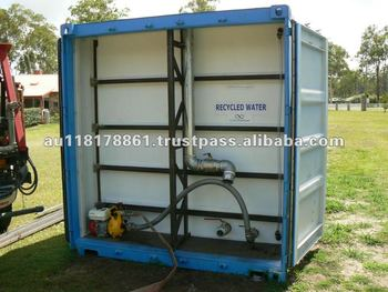 20 And 40 Lined Shipping Container Water Storage Tank Buy