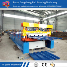 China manufacture galvanized metal roofing sheet panel roller former making machine