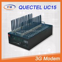 Quectel UC15 AT Commands 32 Channels Mini 3G Modem Bulk SMS With IMEI Change