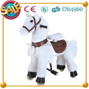 Funny Kids Toy !!!Hot selling small toy plastic spring rocking horse