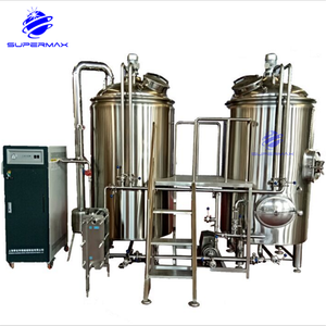 500L hotel draft beer making machine/fresh beer brewing equipment