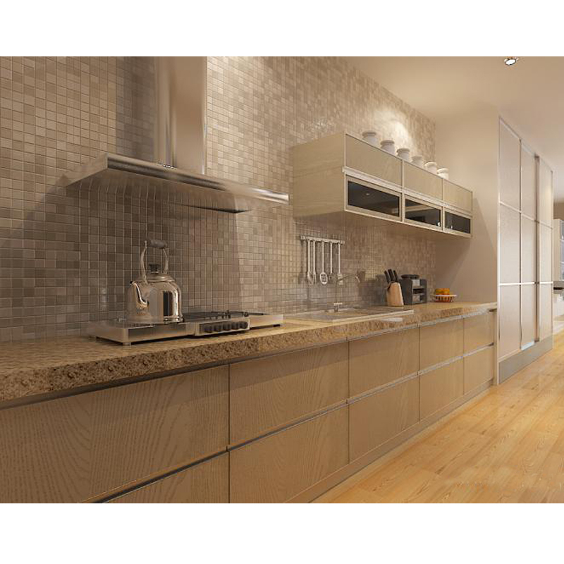 New design for apartment kitchen cabinet