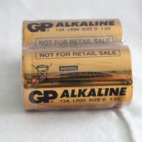 1.5V GP 13A LR20 size D alkaline dry battery