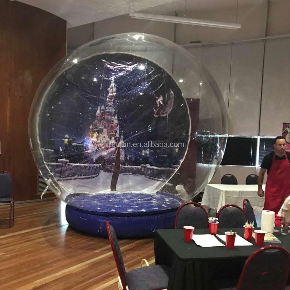 Xmas opblaasbare sneeuwbol goedkope kerst decoratie for Goedkope decoratie