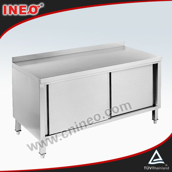 Restaurant And Hotel Stainless Steel Commercial Kitchen Cabinet With ...