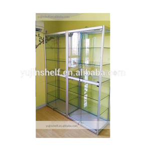 Used Full Vision Full Glass Wall Display Case/Sale Glass Display Case/Make Glass Display Case