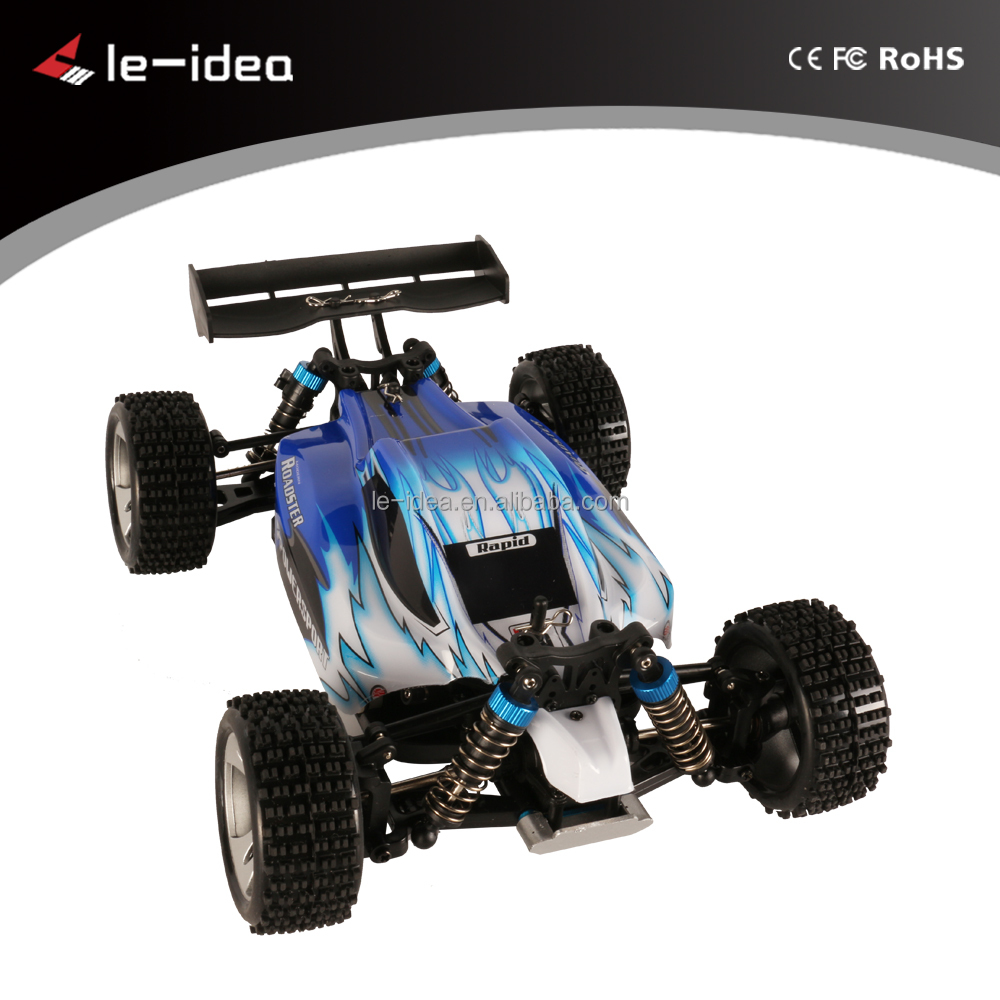 2016 Hot Sale 2.4G 1:18 Scale Full Proportional Electric Car 50km/h High Speed RC Buggy Racing Car