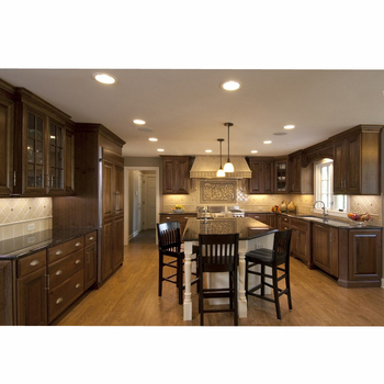 Foshan Factory American Style Pvc White Kitchen Cabinet For Sale