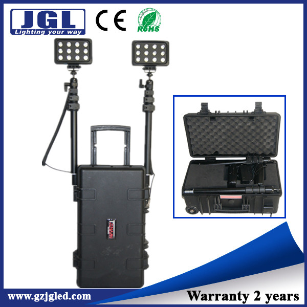 Portable Light Tower Price: Popular Product! Fire Resistant Emergency Light,Battery