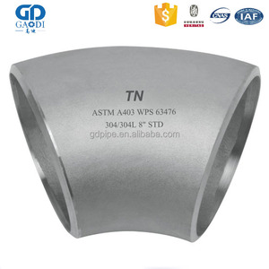Stainless Steel 45 Degree Forged China Ss 321 Elbow