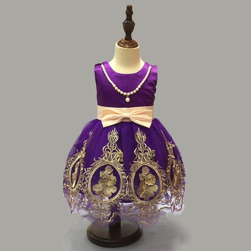 101eef208 Lindo Vestido De Dama De Honra De Casamento Meninas Do Bebê Vestidos De Crianças  Rendas Babados M5041606 - Buy Meninas De Vestidos De Noiva