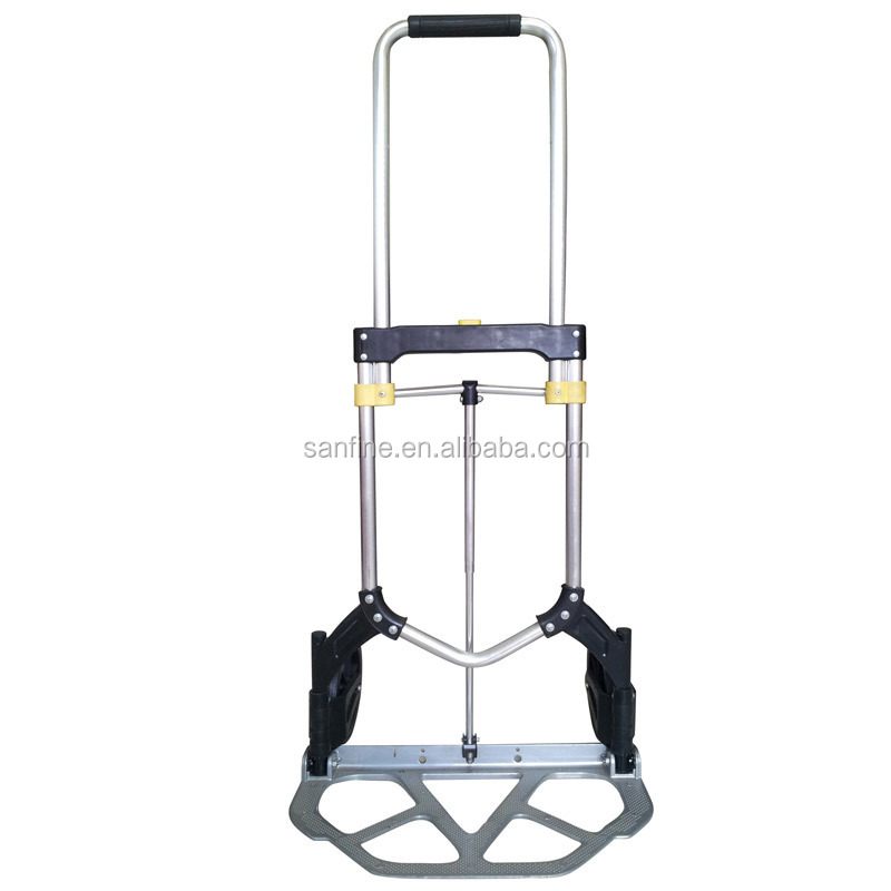 Auminum folding hand trolley tool cart portable home usage hand truck New
