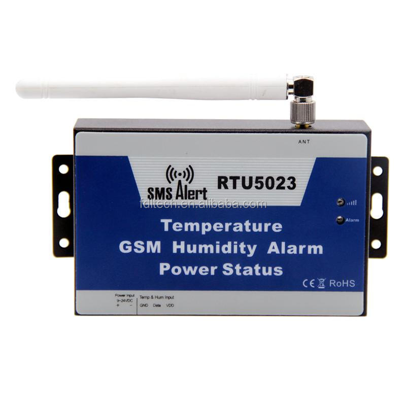 GSM SMS Temperature Humidity Controller for Wine Refrigerator