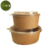 Disposable Take Away 100% Paper Food Container Bowl