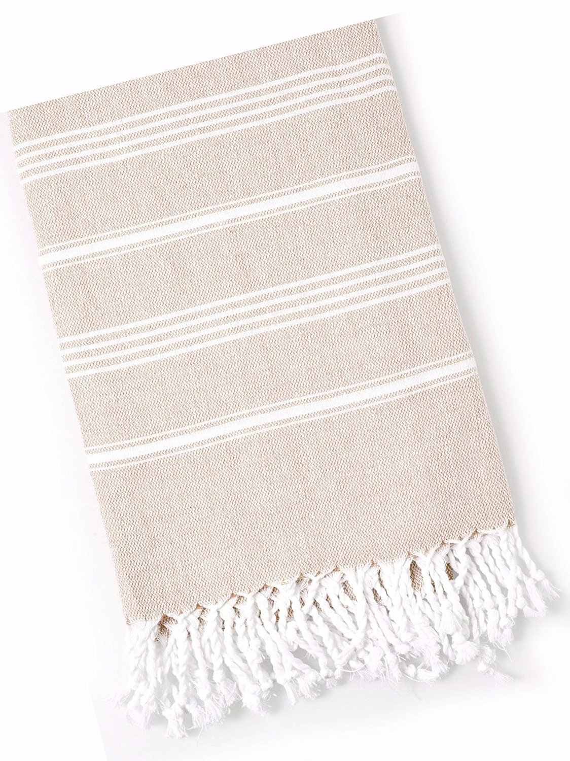 "Custom & Luxurious {30"" x 60"" Inch} 1 Single Large & Thin Soft Summer Beach & Bath Towels Made of Quick-Dry Cotton w/ Tropical Latte Pastel Turkish Lounging Vacation Souvenir Style [Multicolor]"