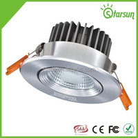 85 CRI silvery color round shape high quality led downlight 3w