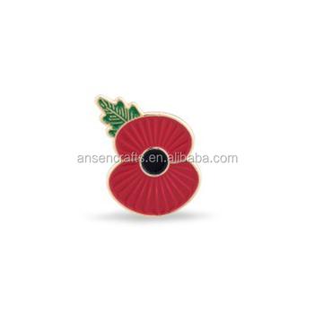Ridge Poppy Lapel Pin - Buy Poppy Brooch,Poppy Pins,Poppy Badge Product on  Alibaba com