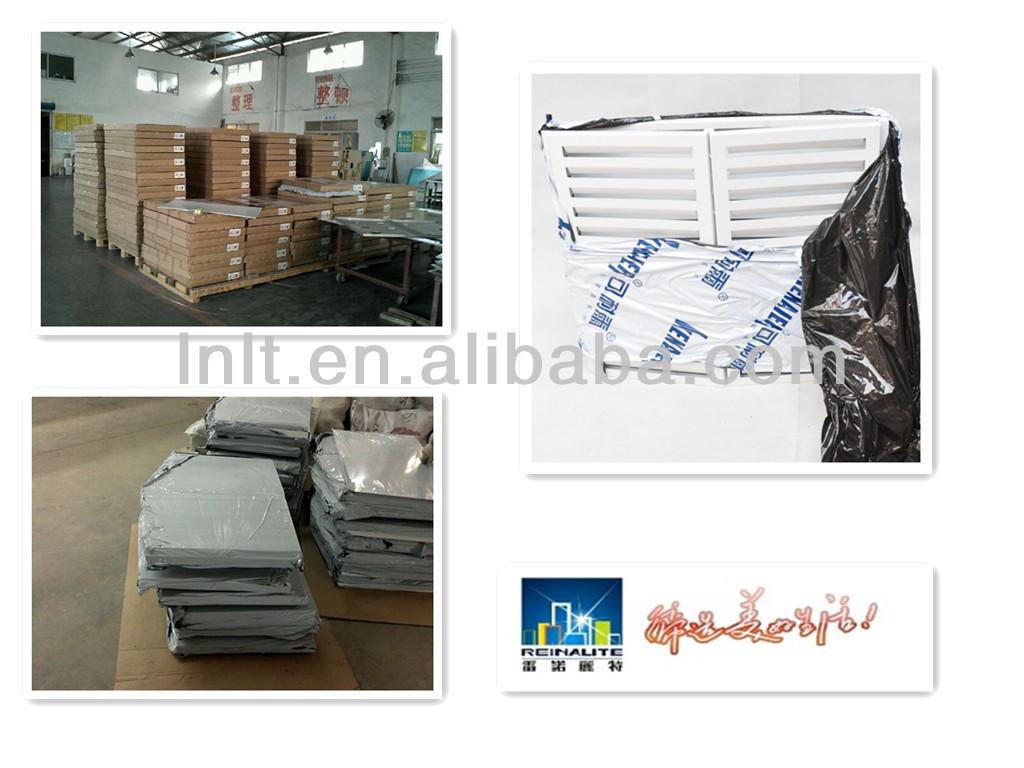 Modern design aluminum air conditioner cover for decorative