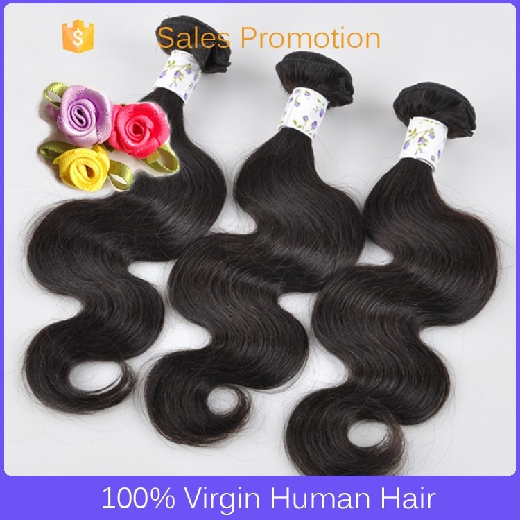 Wholesale Double Drawn Very Thick milky way silky straight human hair weaving on sale
