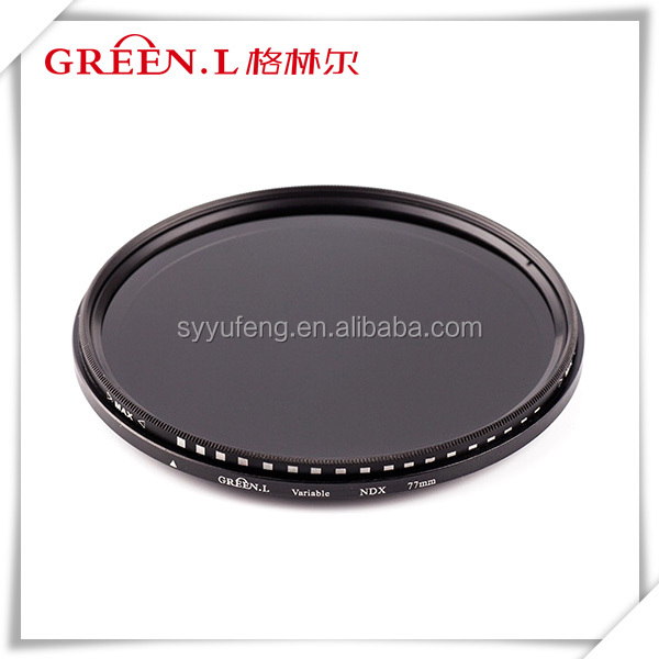 67mm Variable MRC ND filter GREEN.L ND2 to ND400