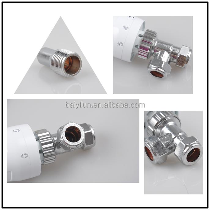 Lat n ngulo v lvula de radiador mercado del reino unido - Valvula termostatica radiador ...