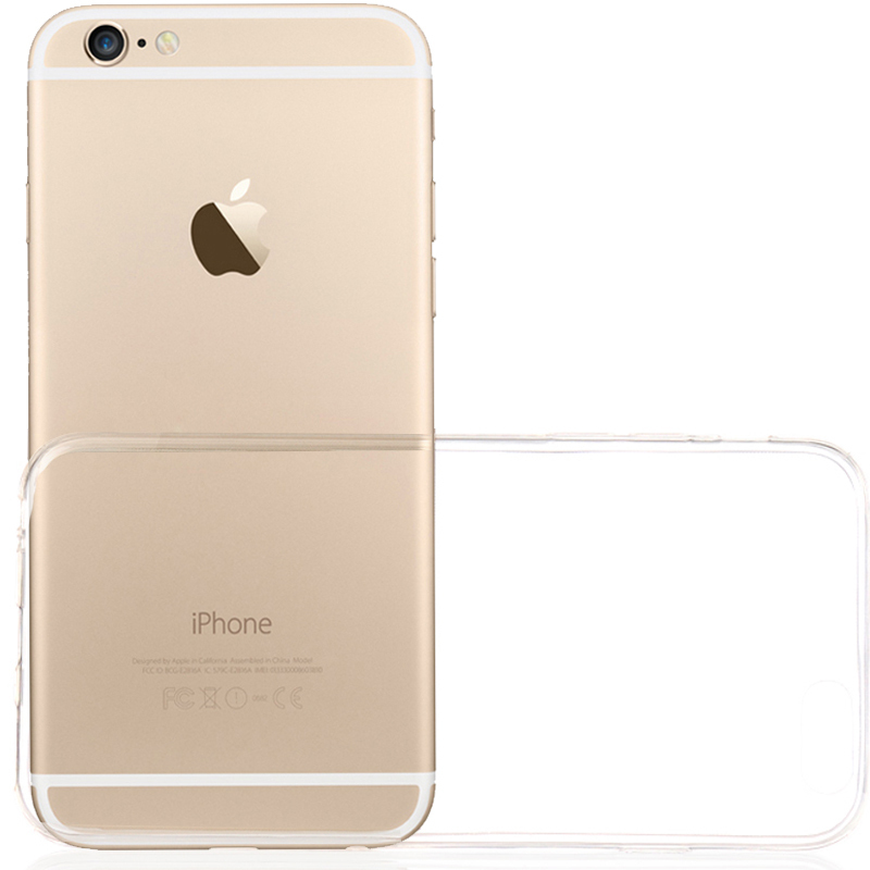 Cell Phone Case for Apple Iphone 5/5S  Clear Transparent Soft TPU  Super Slim Anti-Dirt Free Shipping