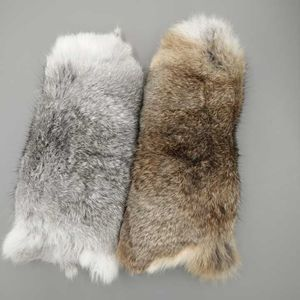 China wholesale factory raw genuine fur rabbit skin