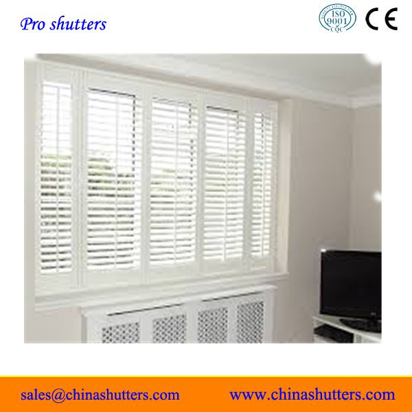 Indoor Wood Shutters White, Indoor Wood Shutters White Suppliers And  Manufacturers At Alibaba.com
