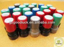Custom Colorful Self inking Rubber Stamps For QC