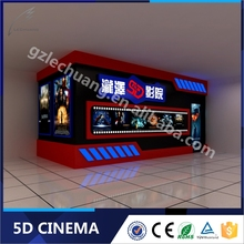Alibaba Interactive Game Roller Coaster Six Rider 7D Cinema With Updating Movies