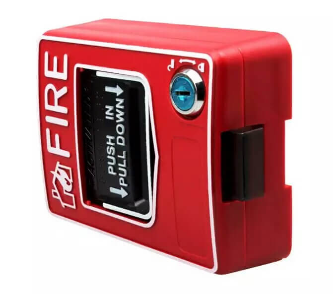 fire support fire station reset key manual call point fire alarm push button