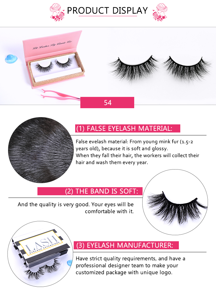 Chinese Manufacture Vendors Multilayered Lashes 5d Mink Eyelashes Packaging