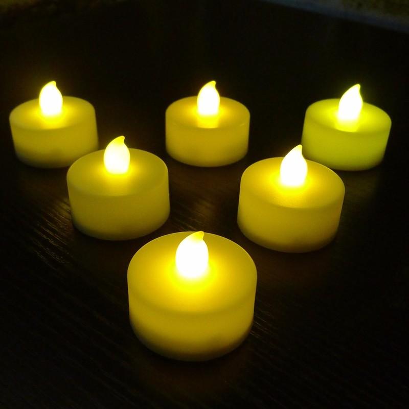 Plastic Flameless Led Tea Light Candle Buy Tea Light Led