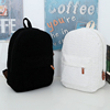 Cheap white canvas Shoulders Bag for student