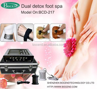 High-tech Dual System Health Care Cleanse Ion Detox Foot Spa Beauty Machine