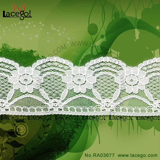 High quality jacquard craft lace designs