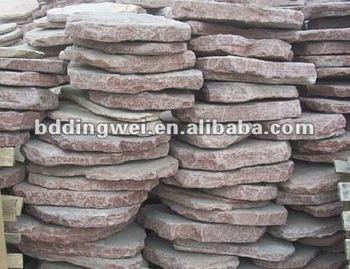 Pink Slate China Foot Stone