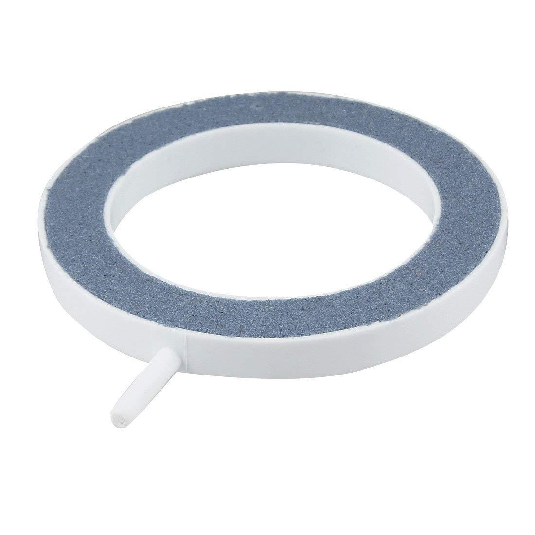 Uxcell Aquarium Bubbles Airstone, 5mm Hose, Blue/White